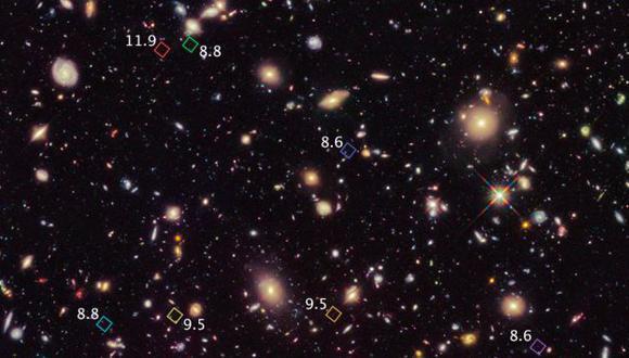 Aquí se pueden observar las galaxias. (NASA)