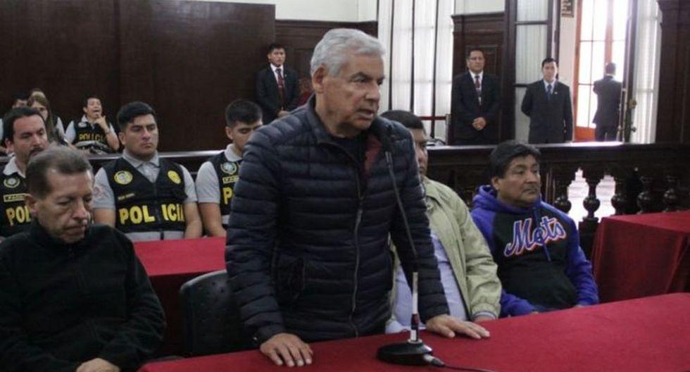 El otrora jefe del Gabinete Ministerial es investigado por supuestamente recibir sobornos de Odebrecht por la adjudicación de la obra carretera San José de Sisa en el 2008, cuando era gobernador regional de San Martín. (Foto: Poder Judicial)