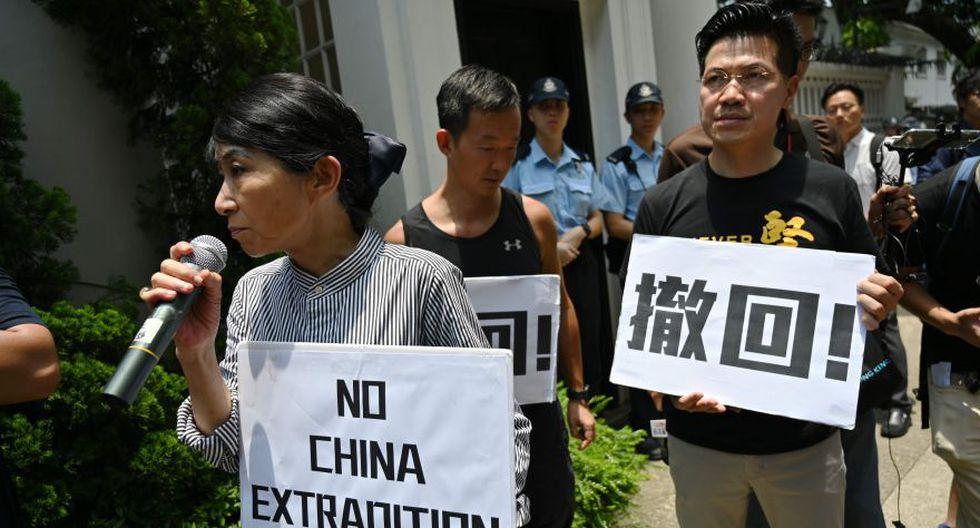 Las razones de Hong Kong para oponerse a las extradiciones a China. (AFP)