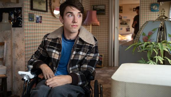 Sex Education, Isaac: la dramática historia detrás de la discapacidad de George Robinson (Foto: Netflix)