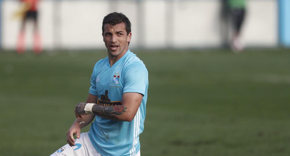 Gabriel Costa anotó la los celestes. (Perú21)