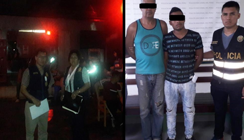 Durante un operativo en la ciudad de Satipo, la Policía Nacional intervino a 5 personas por el presunto delito de trata de personas. (Foto: PNP)