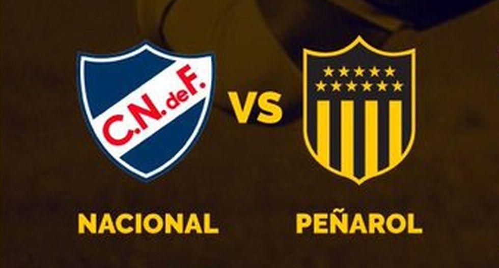 Nacional vs. Peñarol se miden en el Campeonato Uruguayo. (Foto: @OficialCAP)