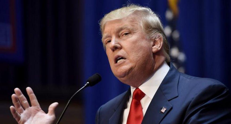 El mandatario estadounidense, Donald Trump. (Foto: EFE)