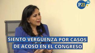 """Gloria Montenegro: """"Siento vergüenza por casos de acoso en el Congreso"""" [ENTREVISTA]"""