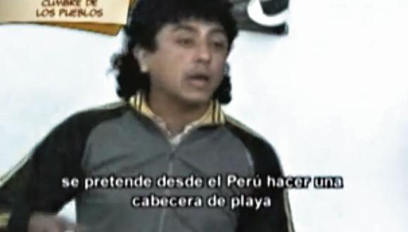 Extremo. Bermejo se alineó al régimen chavista y lo defendió.