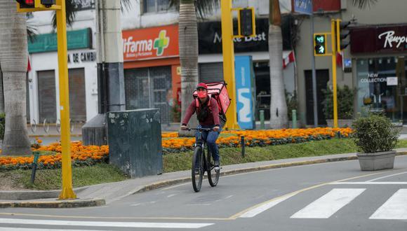 Delivery. (Foto: Miguel Yovera / GEC)