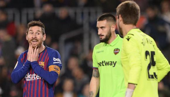 Tras la derrota 2-1 en la ida, Barcelona ganó 3-0 en la vuelta y avanzó a cuartos de final. (Foto: AFP)