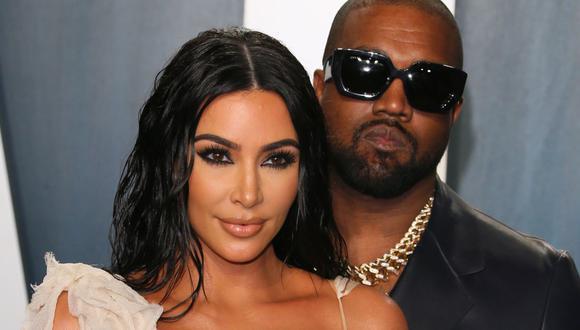 Kim Kardashian y Kanye West se divorciarán tras más de 6 años de matrimonio. (Foto: JEAN-BAPTISTE LACROIX/ AFP)