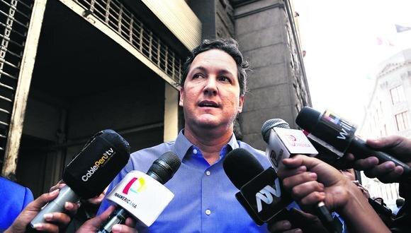 Daniel Salaverry desistió de la denuncia contra ex fiscal de la Nación Pablo Sánchez Velarde cuando se distanció de Fuerza Popular. (Foto: GEC)
