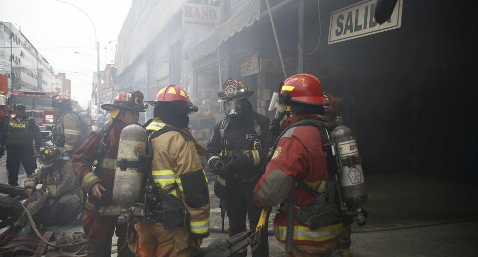 Lima es la región con mayor número de atenciones a bomberos. (Foto: GEC)