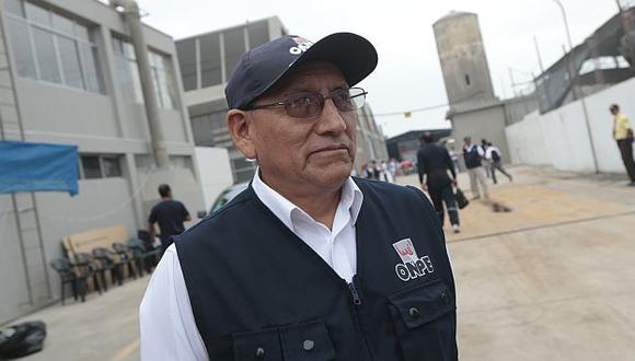 El jefe de la ONPE, Mariano Cucho, exhortó al Congreso que apruebe Ley de Partidos y modifique revocatoria. (USI)