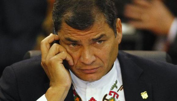 Correa devolvió el Código de la Democracia al Congreso con polémicos cambios. (Reuters)