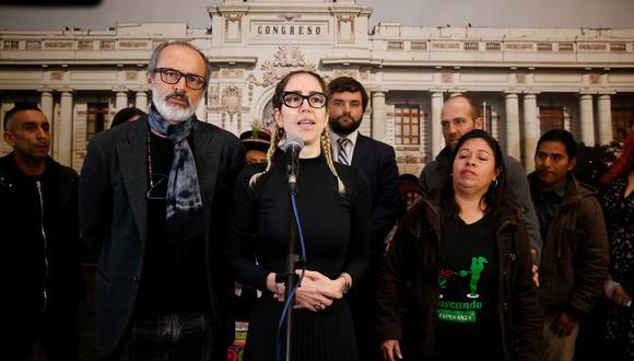 Brivio dejó en claro que la aprobación de la comisión congresal es un primer paso y que todavía falta camino por recorrer. (Rafael Cornejo)