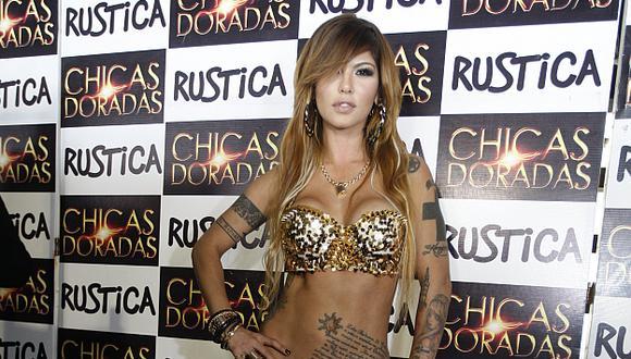 Angie Jibaja es la nueva 'Chica dorada' de Rústica. (USI)