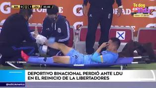 Copa Libertadores: Jean Deza sufre dura lesión en el tobillo