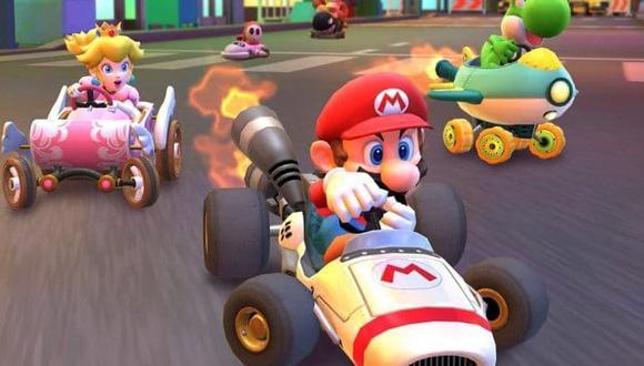 Ya se puede descargar de forma gratuita el videojuego tanto para iOS como para Android. (Mario Kart)