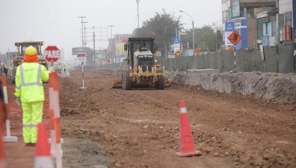 La obra de ampliación del Metropolitano cuenta con un 17% de avance. (Foto: Britanie Arroyo/@photo.gec)