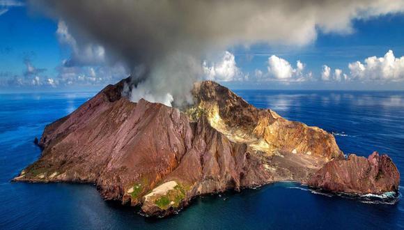 Nueva Zelanda: Comienza misión para recuperar cuerpos tras erupción de volcán. (Foto: Pinterest)