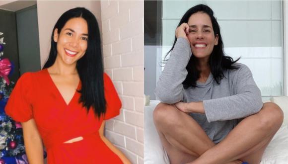 """Gianella Neyra y Magdyel Ugaz juntas en el teaser de """"Medias hermanas"""". (Foto: @magdyelugaz/@magdyelugaz)"""