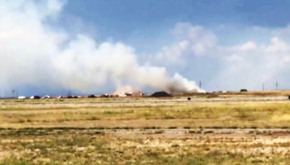 Estados Unidos: Explosión cerca de un aeropuerto en Nuevo México deja numerosos heridos. (Foto: Captura)