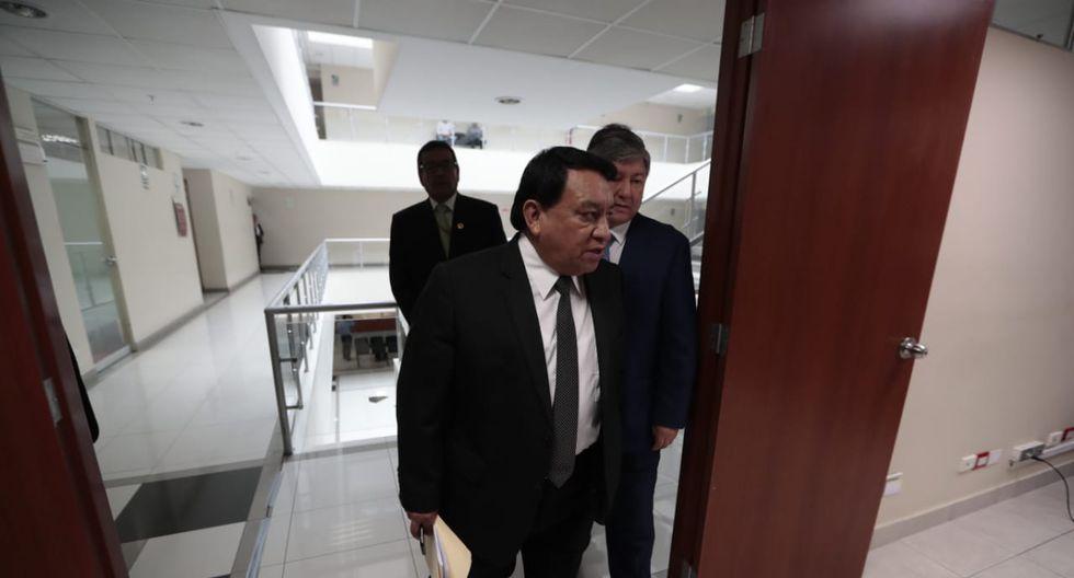 Luna Gálvez es investigado por el supuesto delito de lavado de activos. (Foto: GEC)