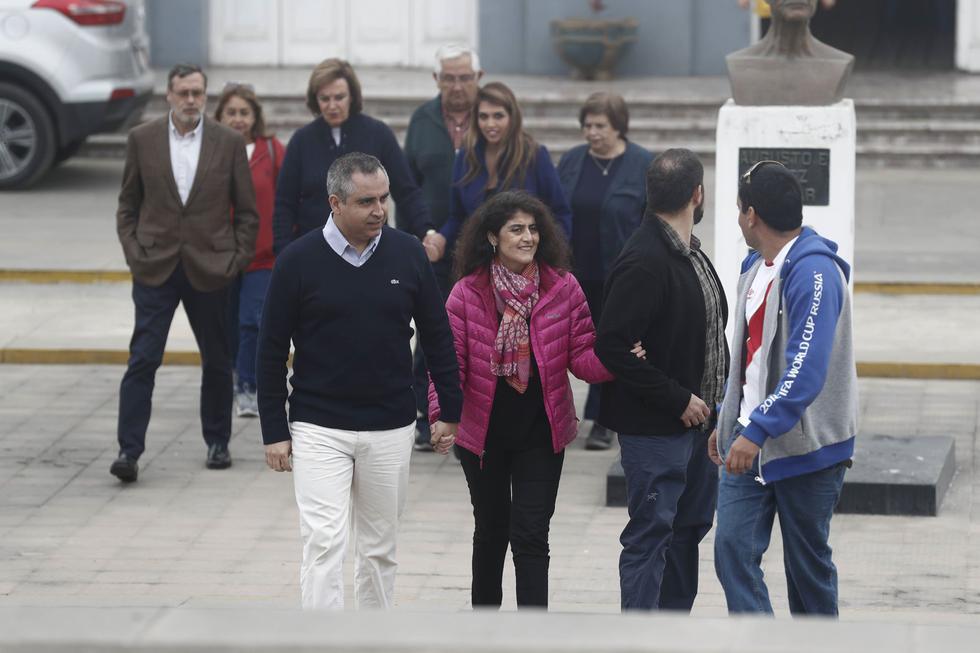 """Esposos chilenos: """"No será fácil volver a tener una vida tranquila"""". (Renzo Salazar/Perú21)"""