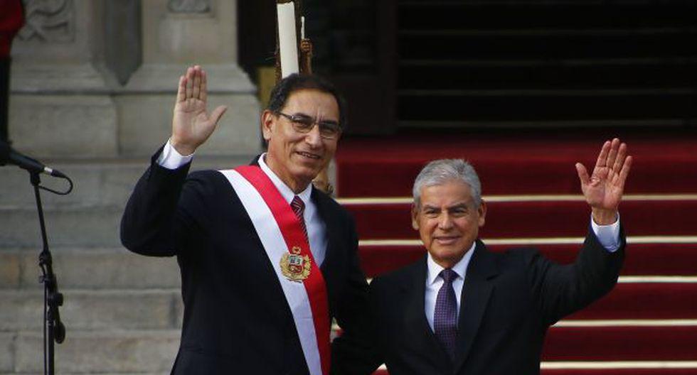 Presidente Vizcarra y premier firman norma que dicta medidas anticorrupción (Luis Centurón)