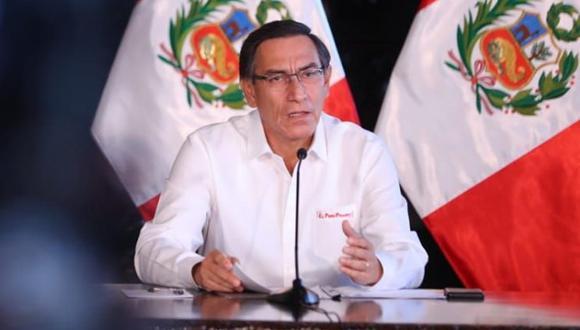 El ingeniero Fredy Herrera Begazo, cuñado de Martín Vizcarra, siguió contratando con el Estado hasta mayo del 2019, pese a estar impedido por la ley de contrataciones del Estado. (Foto: Presidencia)
