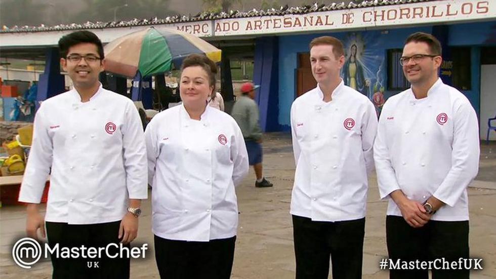Los finalistas de Master Chef UK. (Twitter)