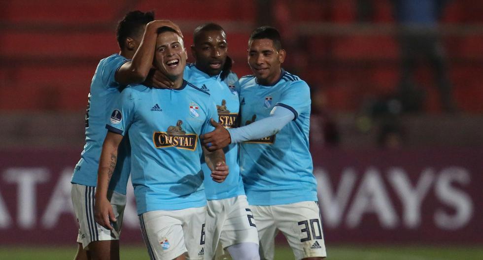 Sporting Cristal goleó 3-0 a Unión Española en Chile por Copa Sudamericana. (EFE)
