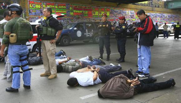 Hampones siguen detenidos. (USI)