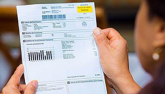 Empresas informan que cobros del recibo de luz se mantendrán durante Estado de Emergencia. (Foto: GEC)