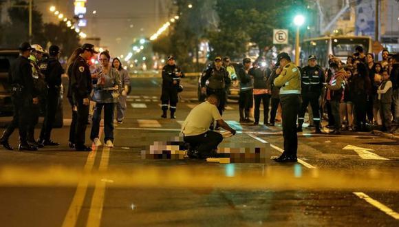 El atropello ocurrió en la avenida Brasil, en Jesús María. (Foto: César Bueno)