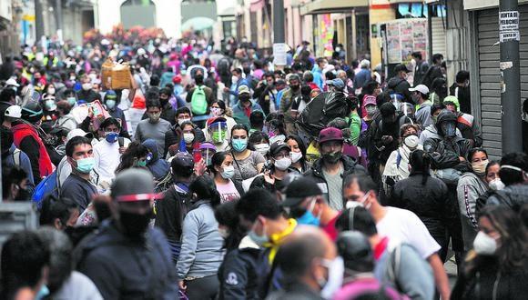 La cantidad de nuevos contagios aumentó este lunes. (Foto: Anthony Nino/GEC)