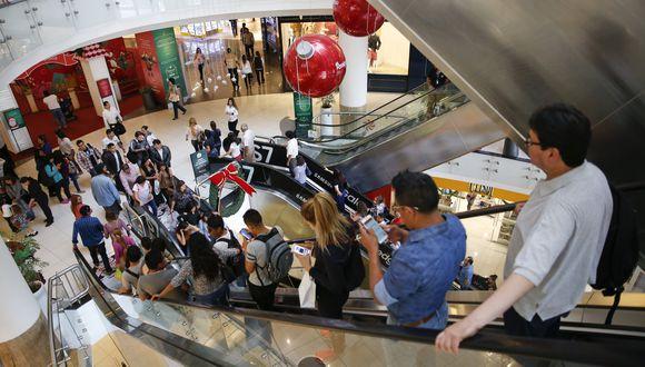 El suceso se registró en el centro comercial Real Plaza Salaverry. (Foto: Real Plaza)