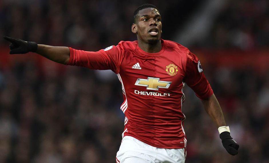 Paul Pogba no tiene ofertas, aseguró el entrenador de Manchester United. (Foto: AFP)