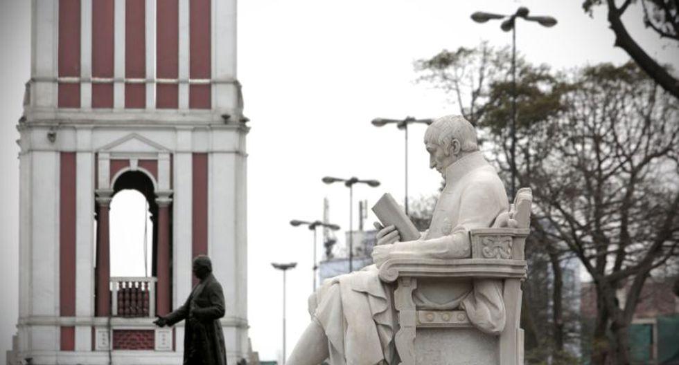 El valor cultural del parque Universitario fue una de las razones que prevaleció para que el monumento fuese ubicado allí. (Perú21)