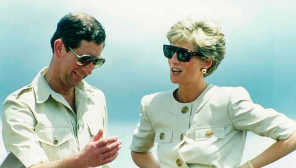 El príncipe Carlos y Diana de Gales en 1991. (Dave Caulkin/Associated Press).