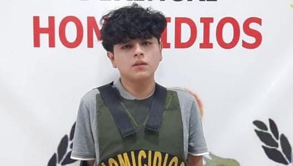 Neftali Levi Chávez Aguilar mató a la nueva pareja de su exenamorada en un parque de La Victoria. (Foto: Policía Nacional)
