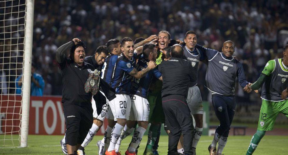 Independiente del Valle logró la hazaña y ya está en semifinales de la Copa Libertadores. (Reuters)