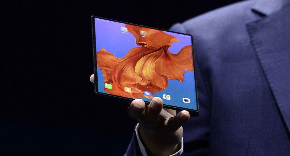 Huawei Mate X debió salir en junio, pero retrasaron su presentación para corregir errores. (Foto: AFP)