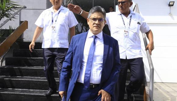 Fiscal José Domingo Pérez cuestionó fallo del Poder Judicial que ordenó excarcelación de Keiko Fujimori. (Foto: Jessica Vicente / GEC)