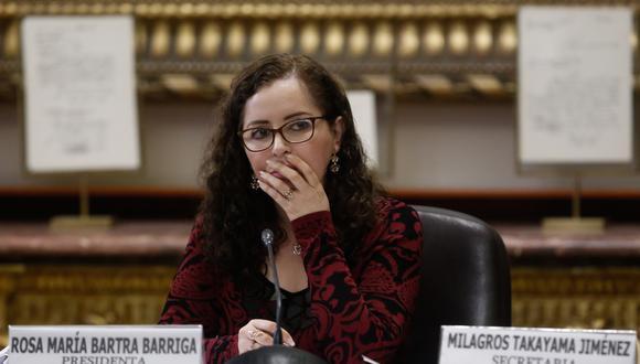 Rosa Bartra aseguró que Alan García sí fue incluido en el informe Lava Jato. (Foto: Archivo)