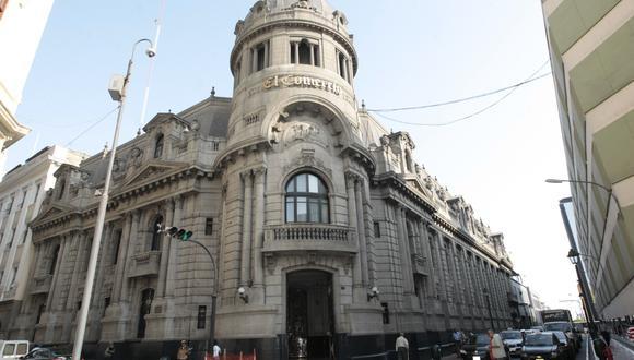 La fachada de El Comercio, ubicada en el Centro de Lima, tomará nuevos aires.