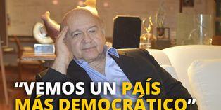 """Hernando de Soto: """"Vemos un país más democrático"""""""