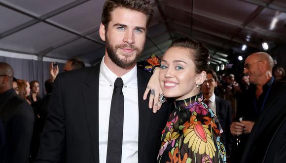 Hemsworth y Cyrus se casaron a fines del año pasado. Ocho meses después, anunciaron su separación. (Foto: AFP)