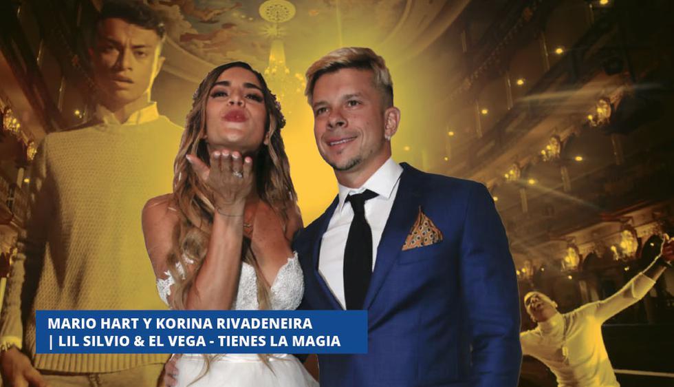 Mario Hart y Korina Rivadeneira | Lil Silvio & El Vega - Tienes La Magia