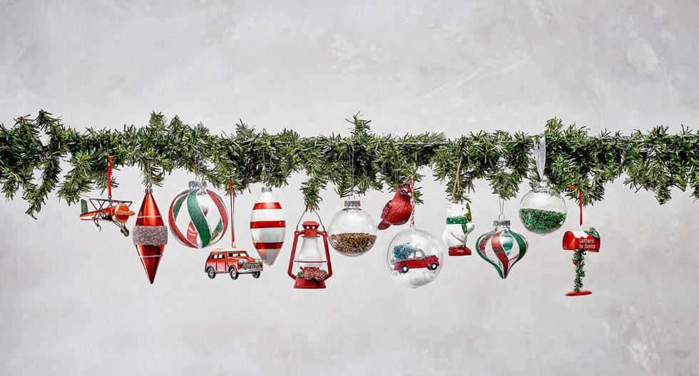 Puedes darle a tu árbol y decoración en general un aire más vintage con estos colgantes. (Foto: Difusión)