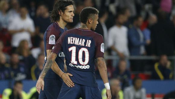 Neymar fue baja del PSG en la visita a Montpellier pero volvería ante Bayern Munich. (AFP)